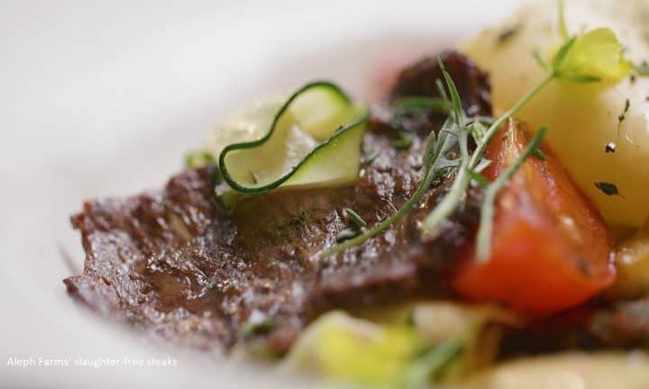 Cultivated beef from Aleph Farms